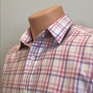 Colorful L/S Cotton Button-up (Gap Factory)